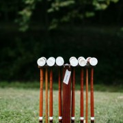 Play croquet on the beautiful manicured grounds - Hidden River Townhomes, Apartments near Juanita Bay, Kirkland, Washington 98034