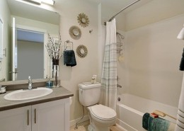 Main Bathroom - Hidden River Townhomes, Apartments near Juanita Bay, Kirkland, Washington 98034
