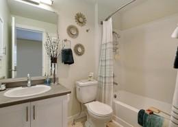Main Bathroom - Hidden River Townhomes, Apartments near Juanita Bay, Kirkland, Washington 98034