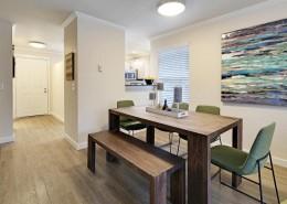 Dining Room Interior - Hidden River Townhomes, Apartments near Juanita Bay, Kirkland, Washington 98034