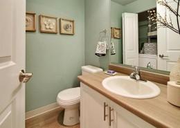Bathroom with Washer and Dryer - Hidden River Townhomes, Apartments near Juanita Bay, Kirkland, Washington 98034
