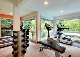 All new fitness center! Hidden River Townhomes, Apartments near Juanita Bay, Kirkland, Washington 98034